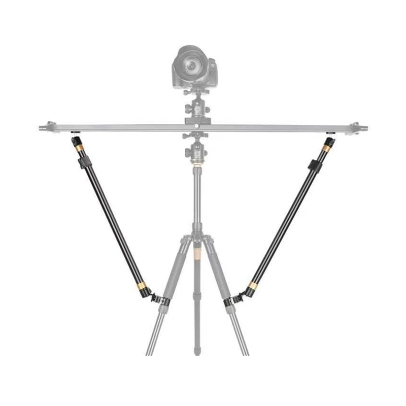 Штатив для видеокамеры QZSD, стойка для слайдера, рельсовая тележка, для фотографии, DSLR-камеры, стабилизатор, аксессуары для штатива