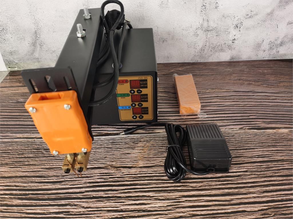 High Power Spot Welder  JSD-IIS 3KW For 18650 Lithium Battery Pack Weld Spot Machine Current adjustable enlarge