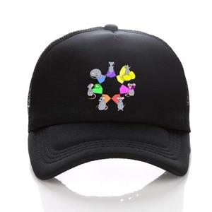 anime The Seven Deadly Sins hat cospaly Baseball Trainer Cap men women Sun Hat Black adjusted snapback hat