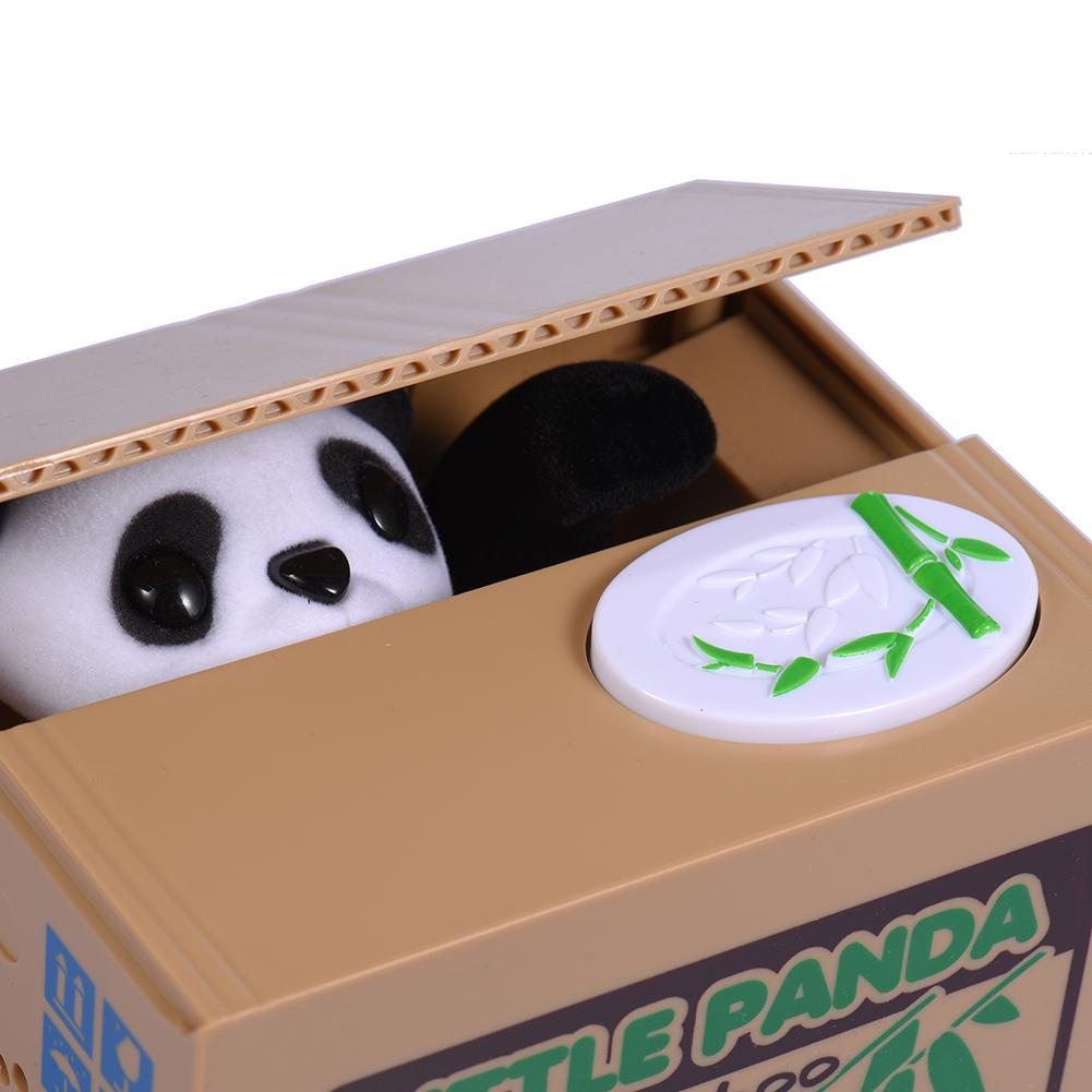OFERTA ESPECIAL hucha de diseño creativo Itazura gato roba caja de monedas de dinero hucha