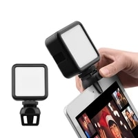 Square LED Video Stream Light Dimmable for Smartphone Tablet Laptop Notebook Mini Vlog Fill Light for Selfie Video Accessory
