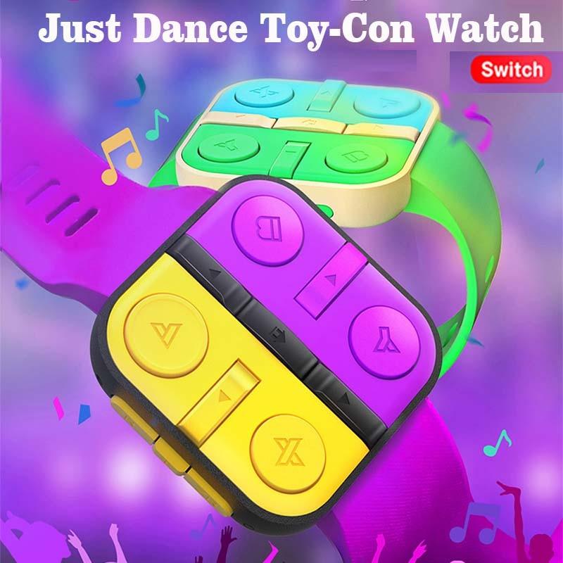 IINE فقط الرقص الفرح كون ساعة لنينتندو سويتش سماعة لاسلكية تعمل بالبلوتوث المعصم الفرقة حزام الرقص somatosensory معصمه قوة كاملة