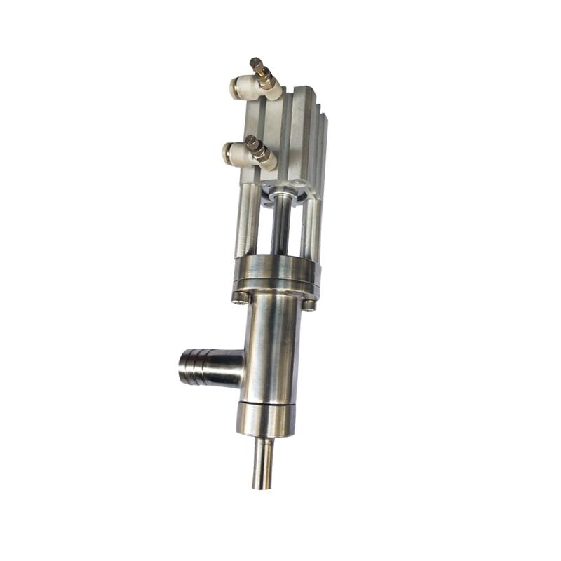 Accesorios de la máquina de llenado a prueba de goteo cabeza de llenado pasta salida líquida 304 boquilla de Material