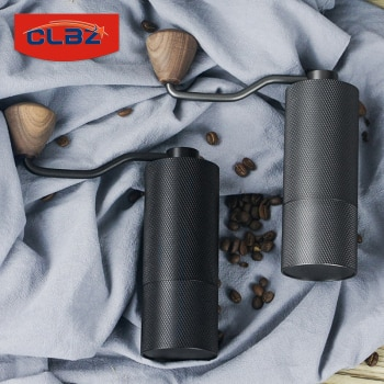 2021 New Manual Coffee Beans Grinder High Quality Stainless Steel Grinding Core Space Aluminum Case Handmade Coffee Milling Tool