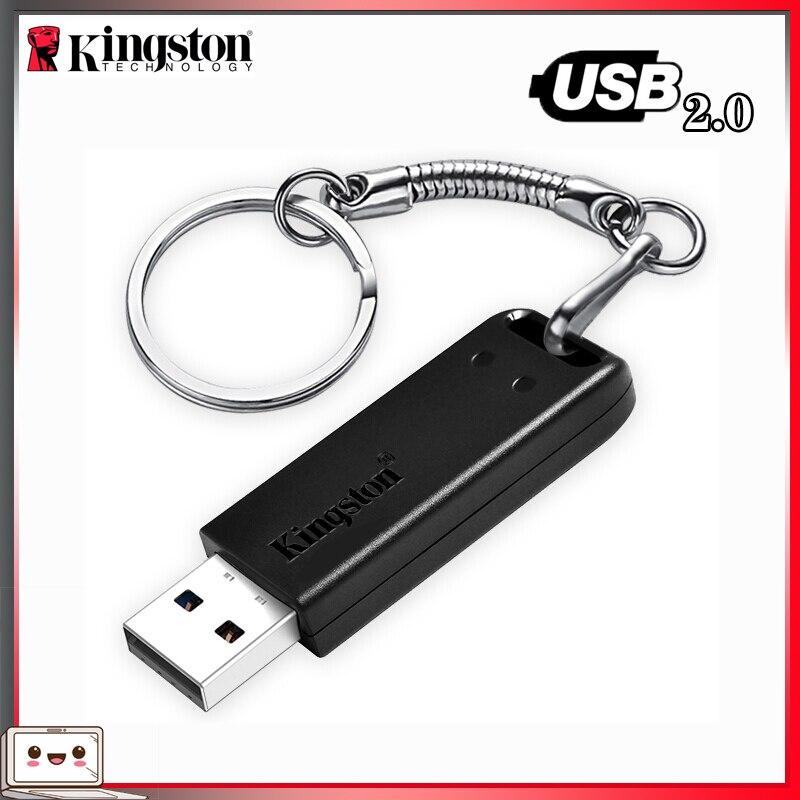 100% Original Kingston USB Flash Drive DataTraveler 20 флешка 32GB 64GB Pen drive USB 2.0 Pendrive Memory Stick Flash Drive