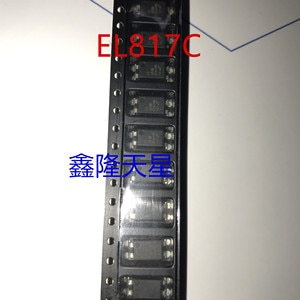 100PCS -1lot  EL817C SOP-4 in-line optocoupler in-line IC chip new spot can be straight shot EL817