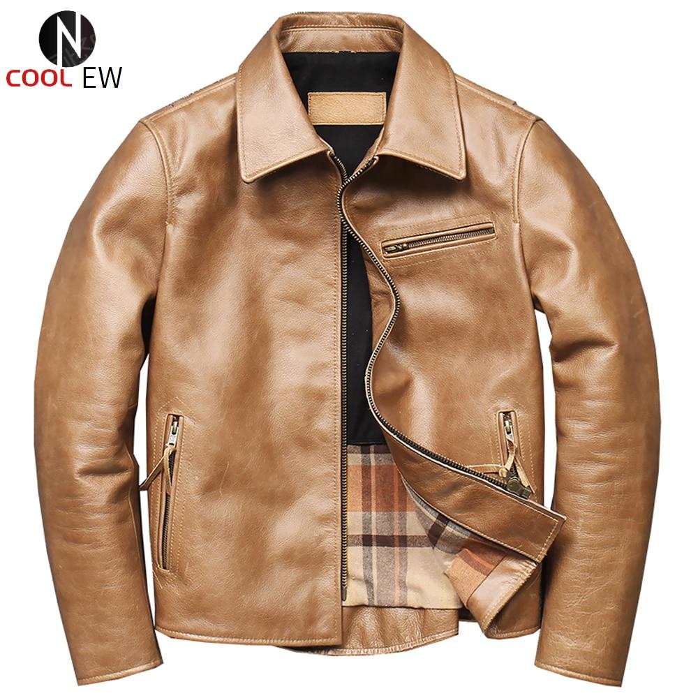 العلامة التجارية رجالي جاكيت زيبرا المائل جلد طبيعي الذهب معطف المتضخم Jaqueta Couro Masculina مقاوم للماء دراجة نارية الذكور سترة