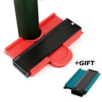5inch and 10 inch Contour Profile Gauge Tiling Laminate Tiles Edge Shaping Wood Measure Ruler ABS Contour Gauge Duplicator