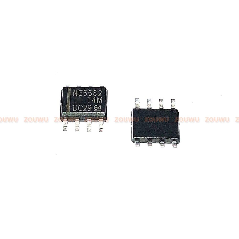 20 PÇS/LOTE NE5532DR SOP-8 NE5532 SOP IC 100% original