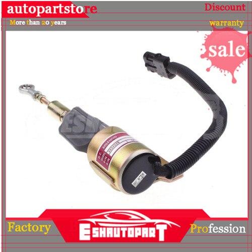 Novo combustível desligado solenóide para cummins 3930658 3932529 3935431 SA-4756-12 j932529