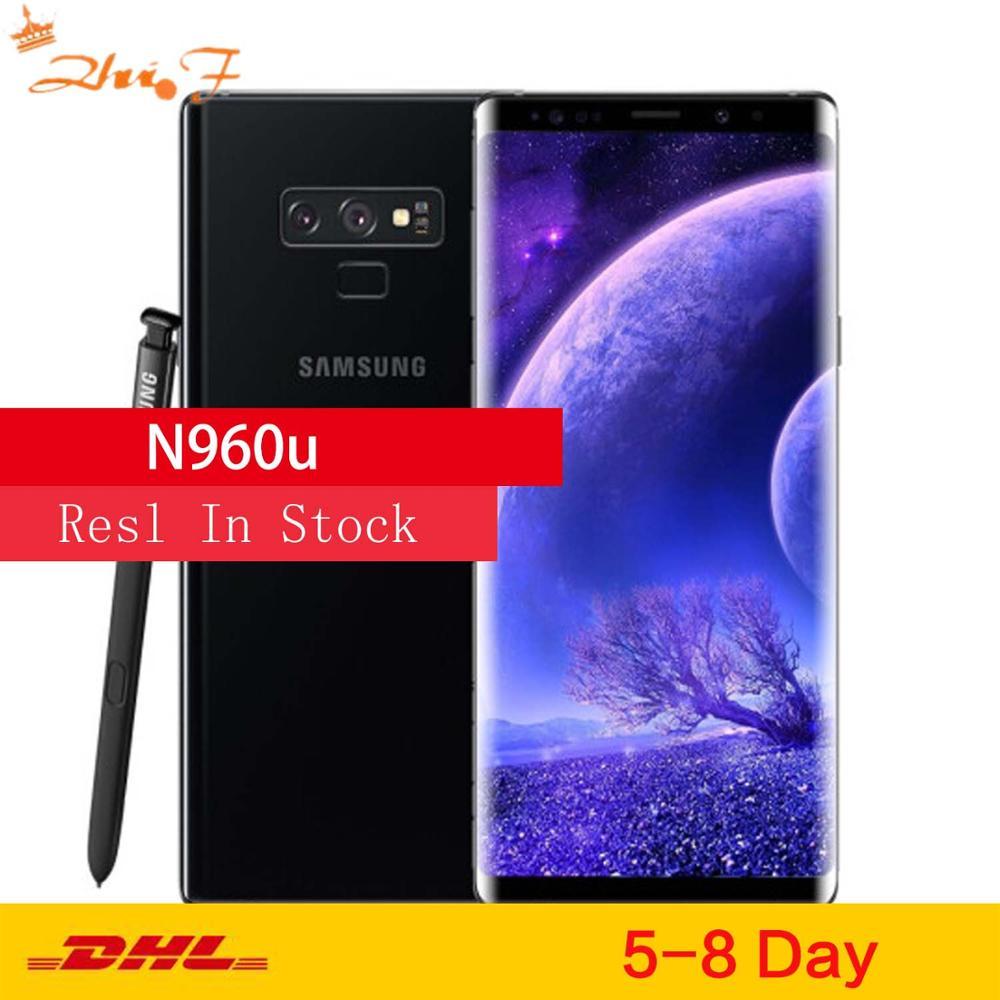"Samsung Galaxy Note9 N960U teléfono móvil 128GB ROM 6GB RAM Original LTE Octa Core 6,4 ""Dual 12MP NFC Snapdragon 845"