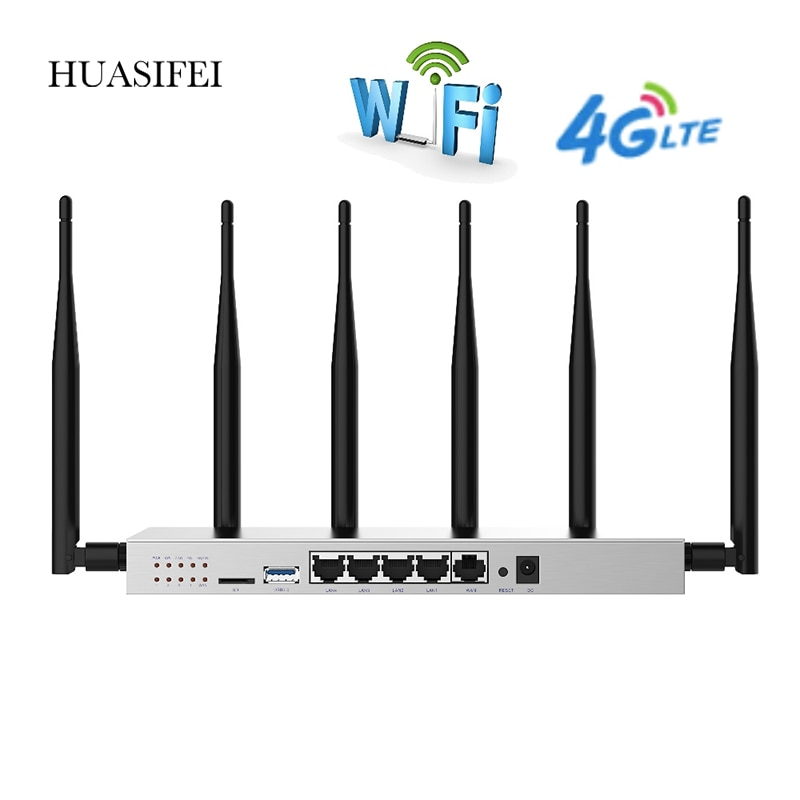 cioswi high power openwrt router 3g 4g wifi router modem with 4 lan and sim card slot smart gigabit router for usb 3 0 1200 mbps Wireless Wifi gigabit router with SIM card slot 3G 4G 5G 1200Mbps high-speed router 4g router sim card Wifi router Vpn router