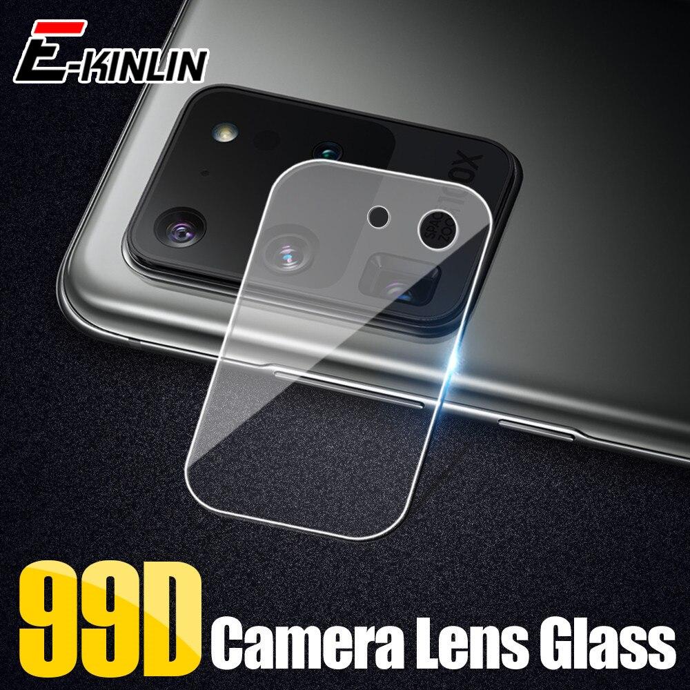 Cámara de la Lente de la pantalla Protector película protectora de vidrio templado para Samsung Galaxy S20 Ultra S10 5G S10e S9 Plus nota 10 9