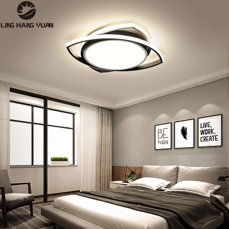 Современный светодиодный потолочный светильник 110 В 220 В, люстра, потолочный светильник для спальни, гостиной, столовой, потолочный светильн...