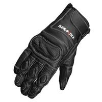 real leather motorcycle gloves moto waterproof gloves protective gears motocross gloves gants de moto black