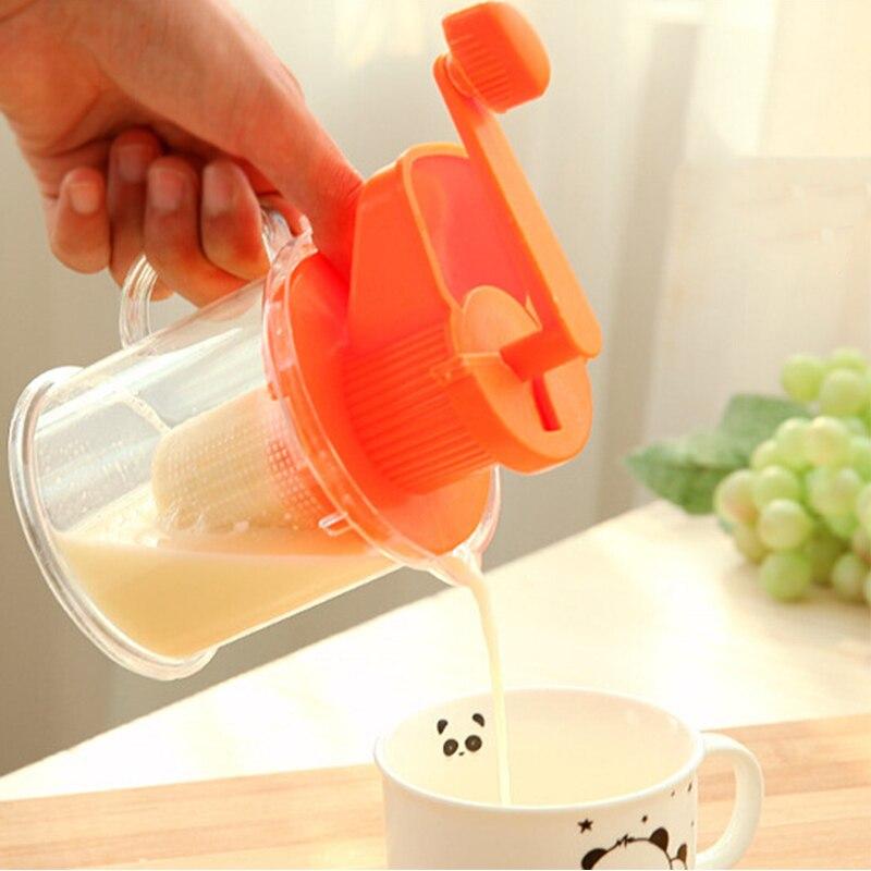 Kitchen Juicer Manual Soy Milk Hand Carrot Soybean Vegetables Juicer Milk Fruit Juicer Machine