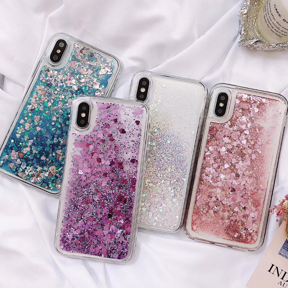 Liquid Quicksand Soft Case for Samsung Galaxy S10 S9 S8 Plus S7 Edge Note 8 9 A70 A60 A50 A40 A30 A20 A10 M10 M20 M30 Cover