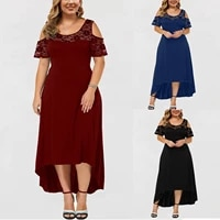 traf dresses for plus size women sexy o neck strapless draw back lace splicing short sleeve dress %d0%bf%d0%bb%d0%b0%d1%82%d1%8c%d0%b5 %d0%bb%d0%b5%d1%82%d0%bd%d0%b5%d0%b5 %d0%b6%d0%b5%d0%bd%d1%81%d0%ba%d0%be%d0%b52021
