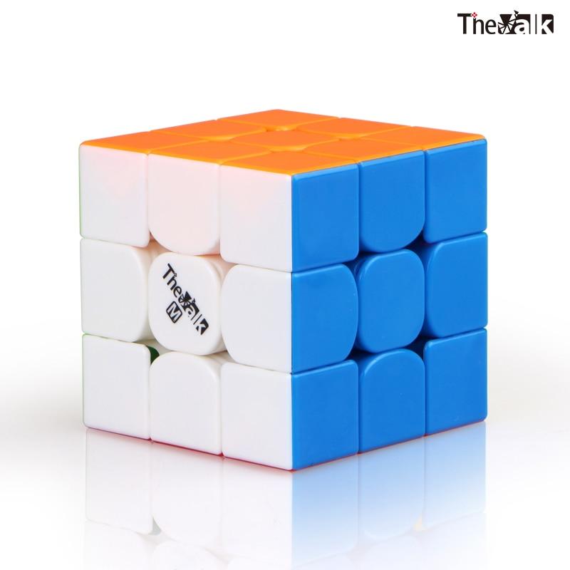 qiyi o valk3 m cubo de velocidade 3x3x3 cubo magico magnetico quebra cabeca valk