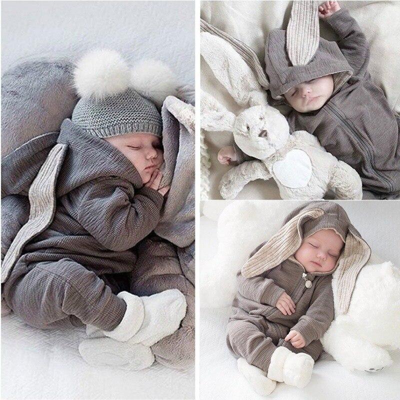 Одежда для новорожденных с рисунком «кролик» для малышей, новорожденных, комбинезон для новорожденных, комбинезон для маленьких мальчиков;...
