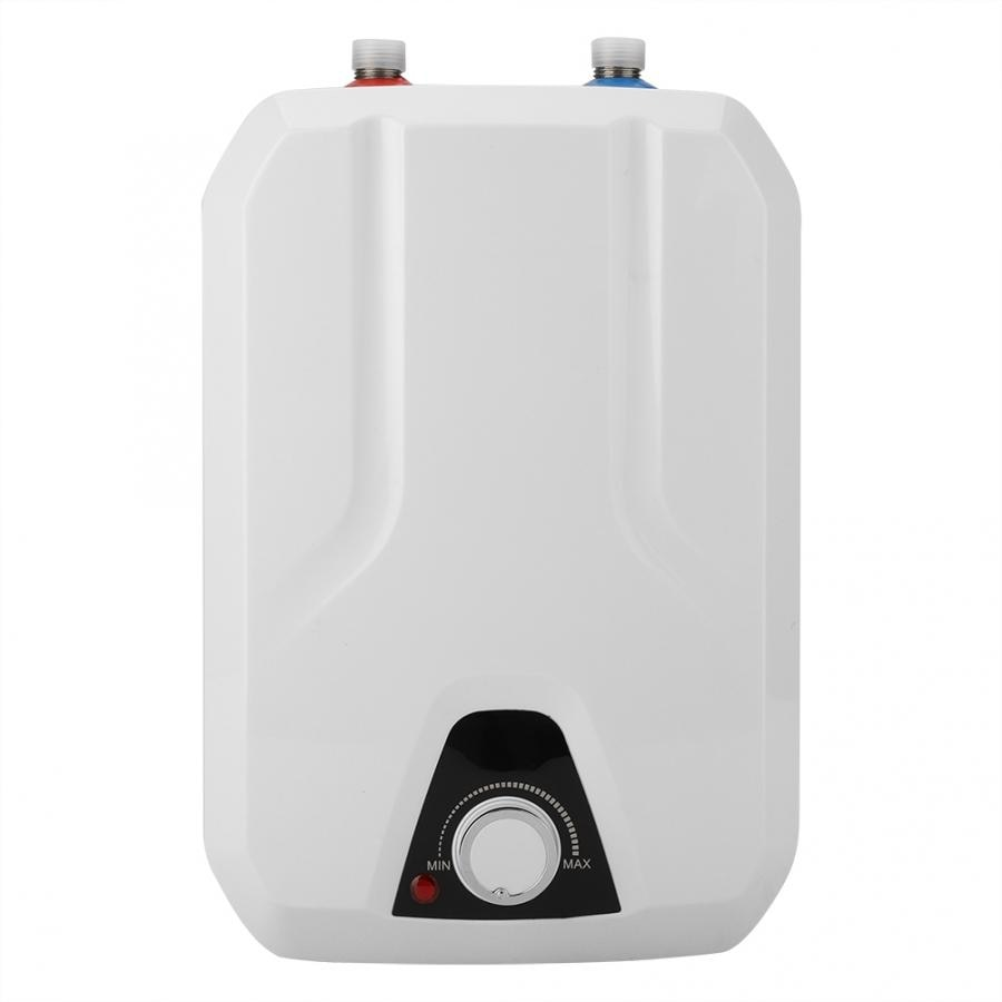 Caldera de agua 8L Mini calentador de agua eléctrico instantáneo sistema de agua caliente de ducha sin tanque AU Chaffe eau Electrique