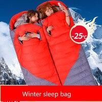 210 * 85cm Sleeping Bag Outdoor Multifunctional Camping Travel Lazy Bag Hiking Ultra-light Envelope Sleeping Bed Sac De Couchage