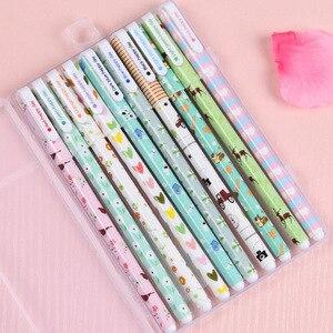 20 Pcs (2 box) Colorful Gel Pen Set Korean Office Stationery Stylo Canetas Escolar Papelaria Color Creative Gift School Supplies