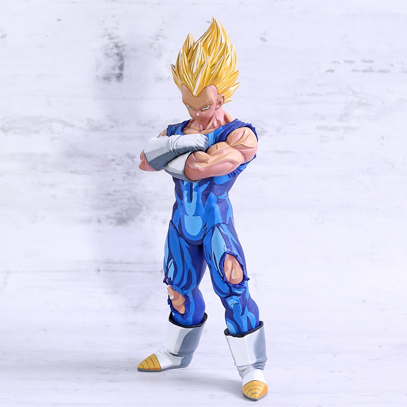 Figuras de acción de Dragon Ball Z, Grandista, Super Saiyan Vegeta, Manga, dimensiones PVC
