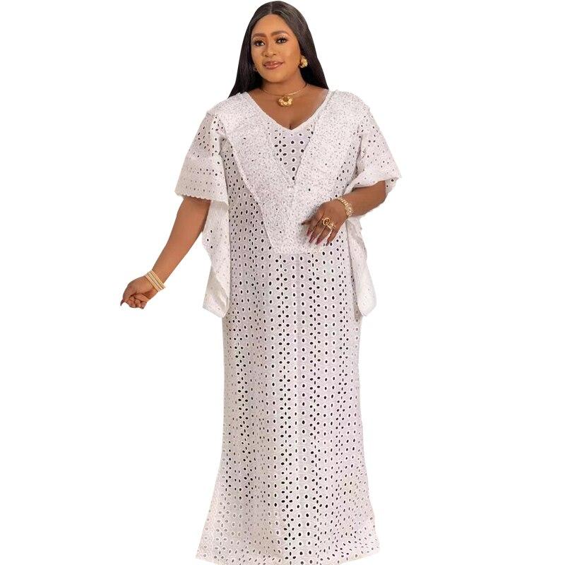 الأفريقي جبر فساتين الدانتيل النساء بوبو قفطان فستان المغربي دبي الفاخرة عباية الزفاف رداء حفلات جديدة Vestidos قطعة واحدة