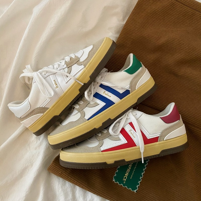 Women Shoes 2021 Spring New Girls Students Casual Shoes Fashion Trends Nice Quality 35-44 Lovers Sho