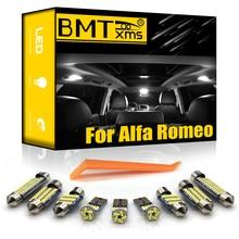 Bmtxms Voor Alfa Romeo Giulietta Mito Brera Gt Spider Giulia 4C Stelvio 147 156 159 166 Voertuig Led Interieur Licht kit Canbus