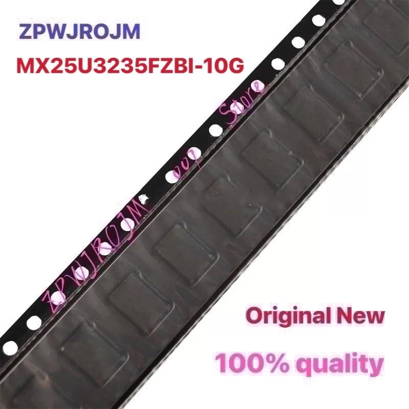 5 قطعة MX25U3235FZBI-10G MX25U3235F U3235F 3 مللي متر * 4 مللي متر USON-8