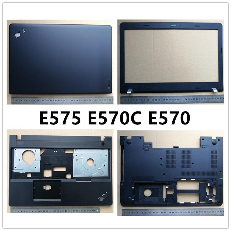 Nuevo ordenador portátil para Lenovo Thinkpad E575 E570C E570 LCD contraportada/bisel frontal/reposamanos/cubierta inferior