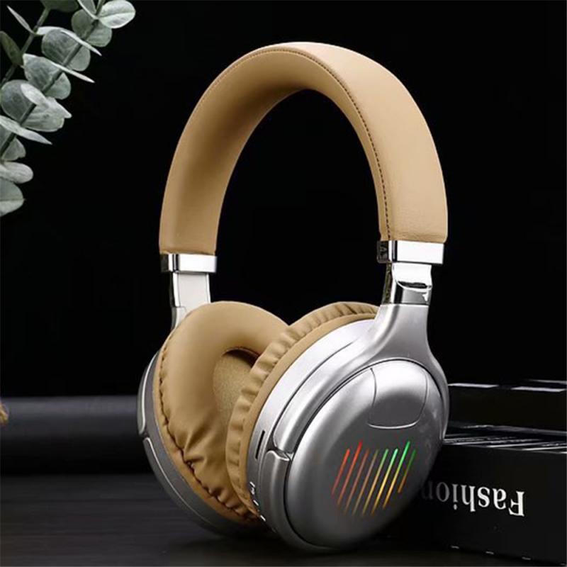 Fones de Ouvido sem Fio Fones de Ouvido Fones de Ouvido com Microfone Graves Profundos Bluetooth Dobrável Esporte Jogos com Microfone fm