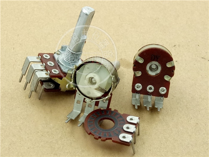 مقياس الجهد الصوتي من تايوان DY ، جهاز تشفير بحجم 16 نوعًا مع خطوة 48 نقطة ، طول المقبض 25 مللي متر 6 أقدام