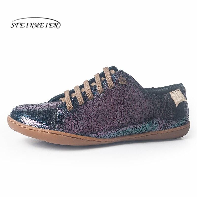 Женская обувь на плоской подошве, повседневная обувь из натуральной кожи, балетки на плоской подошве, весенняя обувь 2020