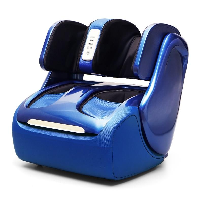 Electric Leg Foot Knee Massager Heating Calf Massage Machine Air Pressure Air Compression Roller Shiatsu Massageador Eletrico