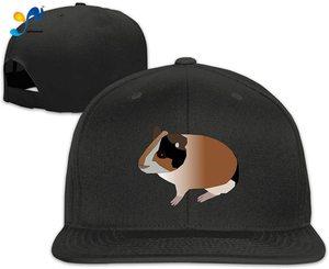 Yellowpods Guinea Pig Wheek Men's Relaxed Medium Profile Adjustable Baseball Cap