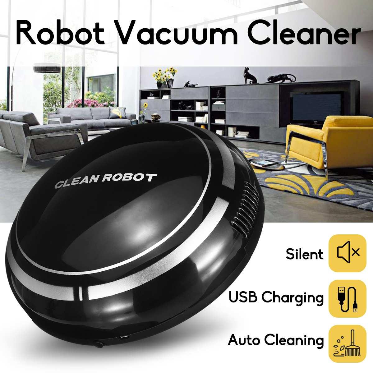 Inteligente robô automático máquina de limpeza a vácuo inteligente chão varrendo pó coletor tapete mais limpo para casa limpeza automática