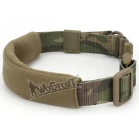 wosport hot tactical dog collar pet camouflage drifting tour hiking mountain climbing nylon durable adjustable rope