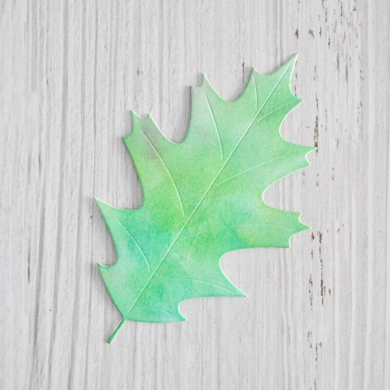 Happymems hoja de primavera punzón Plantilla de corte troqueles decoración Srapbooking Card Making Embossing Leaf troquelado nuevo 2019 manualidades DIY