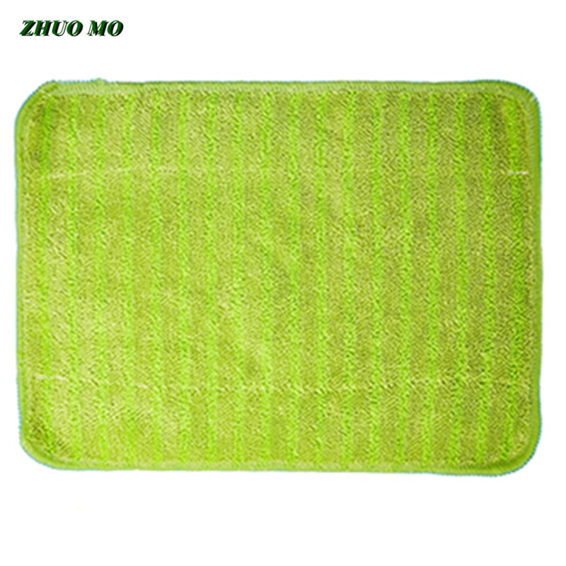 1pc Microfiber mop Head Floor 28*38cm Coral velvet Cleaning Cloth The Mop To Replace towel Household Cleaning Mop Accessories enlarge