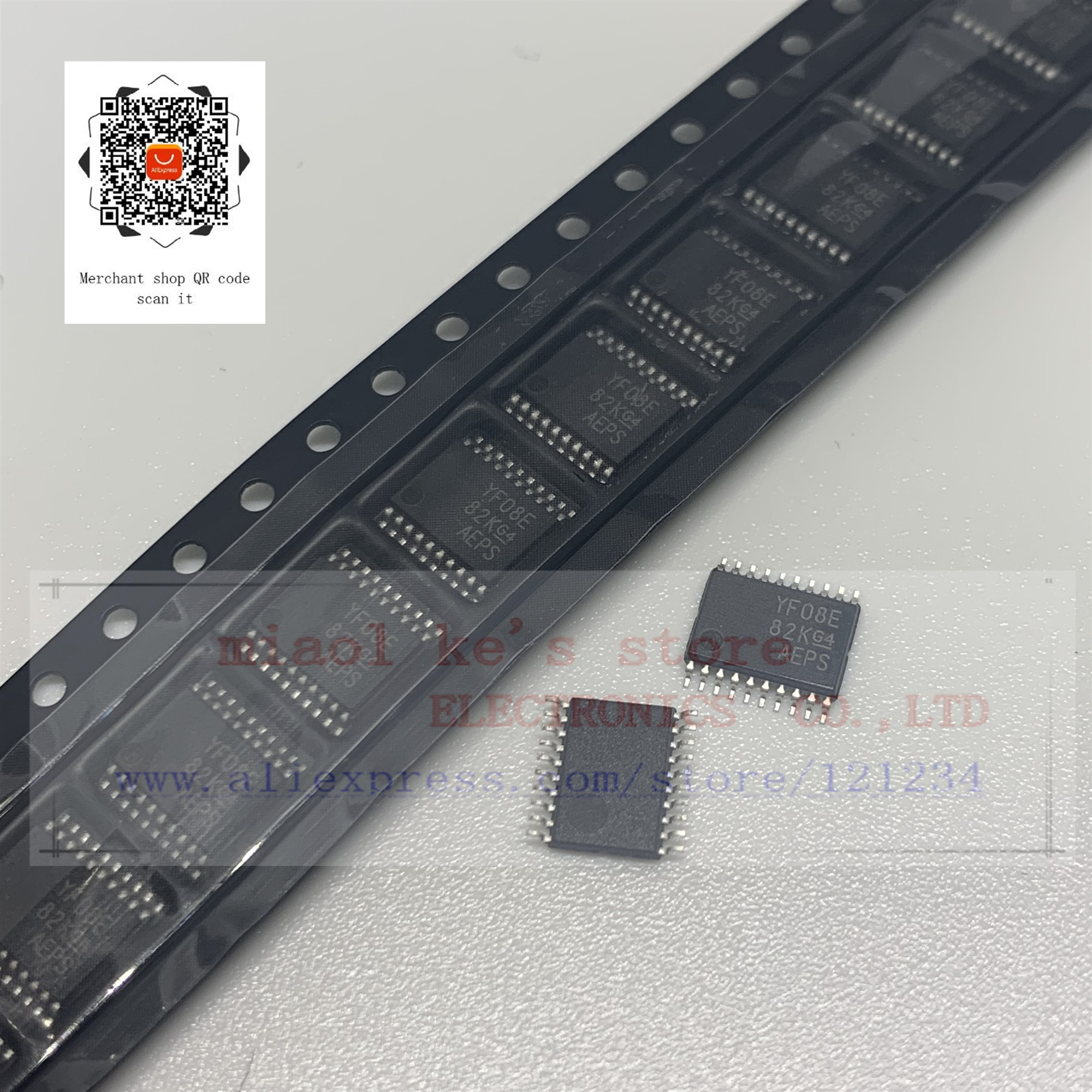 [5 шт ~ 10 шт] 100% Новый оригинал: TXS0108EPWRG4 TXS0108EPWR TXS0108EPW TXS0108E TXS0108 YF08E YE08-IC TRNSLTR двунаправленный 20TSSOP