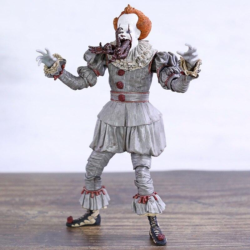 NECA It Pennywise Ultimate The Dancing Clown colección figura de acción modelo de juguete con luz LED