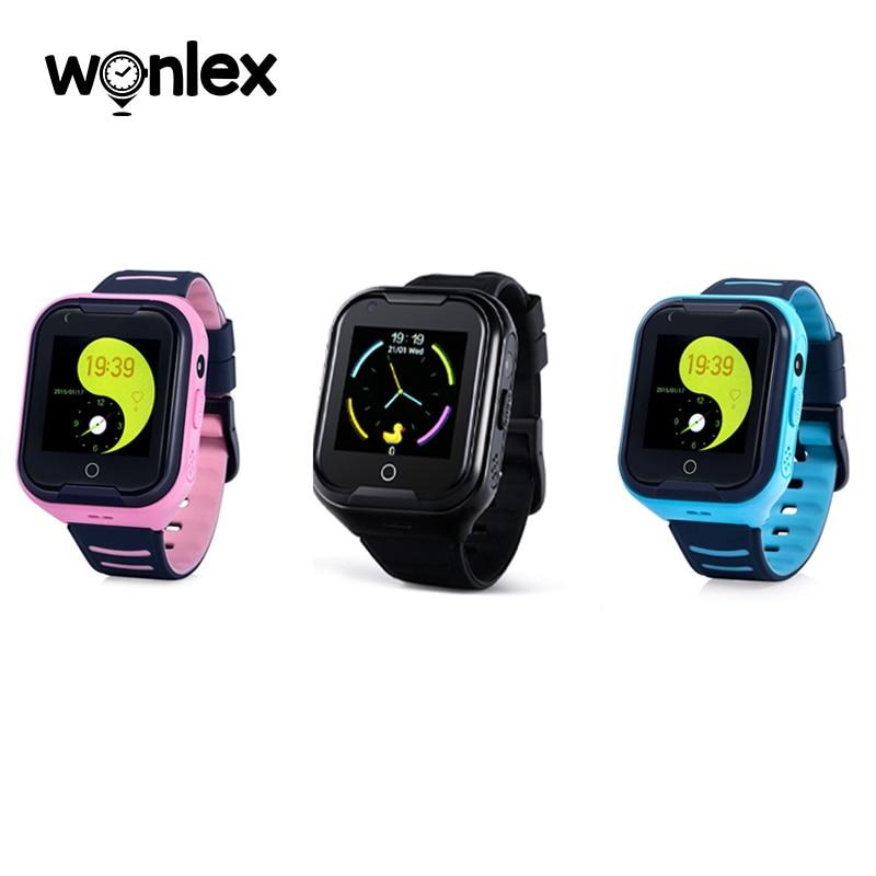 Wonlex kt11дешевле водонепроницаемые IP67 4G sim-карты видео звонки Смарт-часы GPS Po дети новая версия Дети Студенты SOS часы