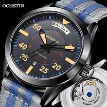 Modern Men's Watches 2020 Pilot Automatic Mechanical Wristwatch Military Luxury OCHSTIN Date Week Do