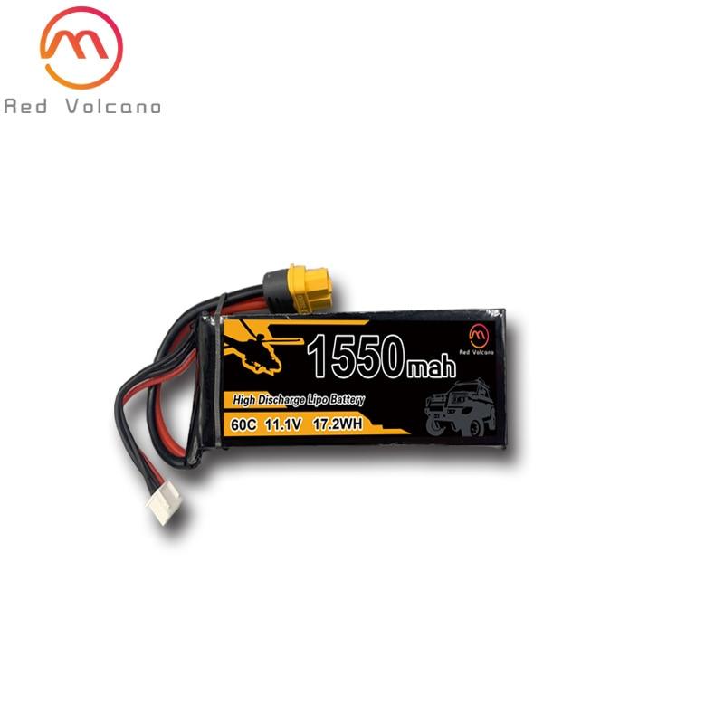 RC LiPo Battery 1300 1550 2200 2600 3300 4200 5200 3S 25C 35C 60C 3S 11.1V RC battery for RC airplane drone quadrotor enlarge