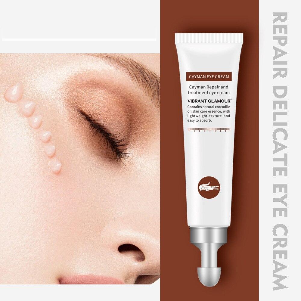 Crocodile Eye Cream Stay up late repair eye cream dark circle remover  skin care anti wrinkle late fall circle hoop lace up sweater