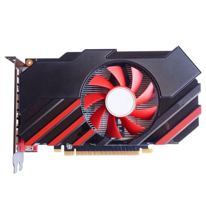 بطاقة رسومات للألعاب لـ NVIDIA GTX 750Ti 2GB GDDR5 128 Bit PCIE 3.0 HDMI-متوافق/VGA/DVI واجهة مع مروحة تبريد
