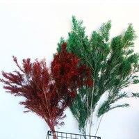 Fleurs sechees pour decoration de maison  pour mariage  pour salle indienne  plantes artificielles  pour bouquet de Melaleuca  pour fete  pour la maison